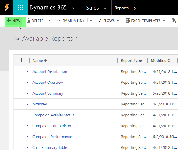 How to Create Your First Dynamics 365 SSRS Report – ReadyXRM