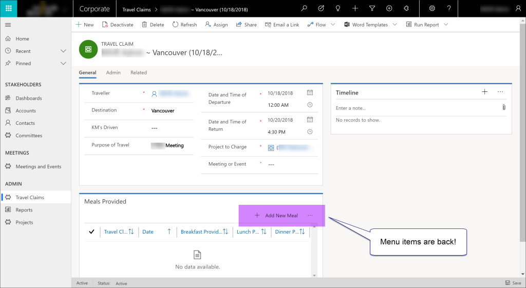 How to Fix Missing Menus in the Dynamics 365 Unified Interface