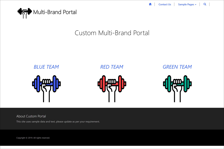 Building a Multi-Brand Dynamics 365 Portal – ReadyXRM