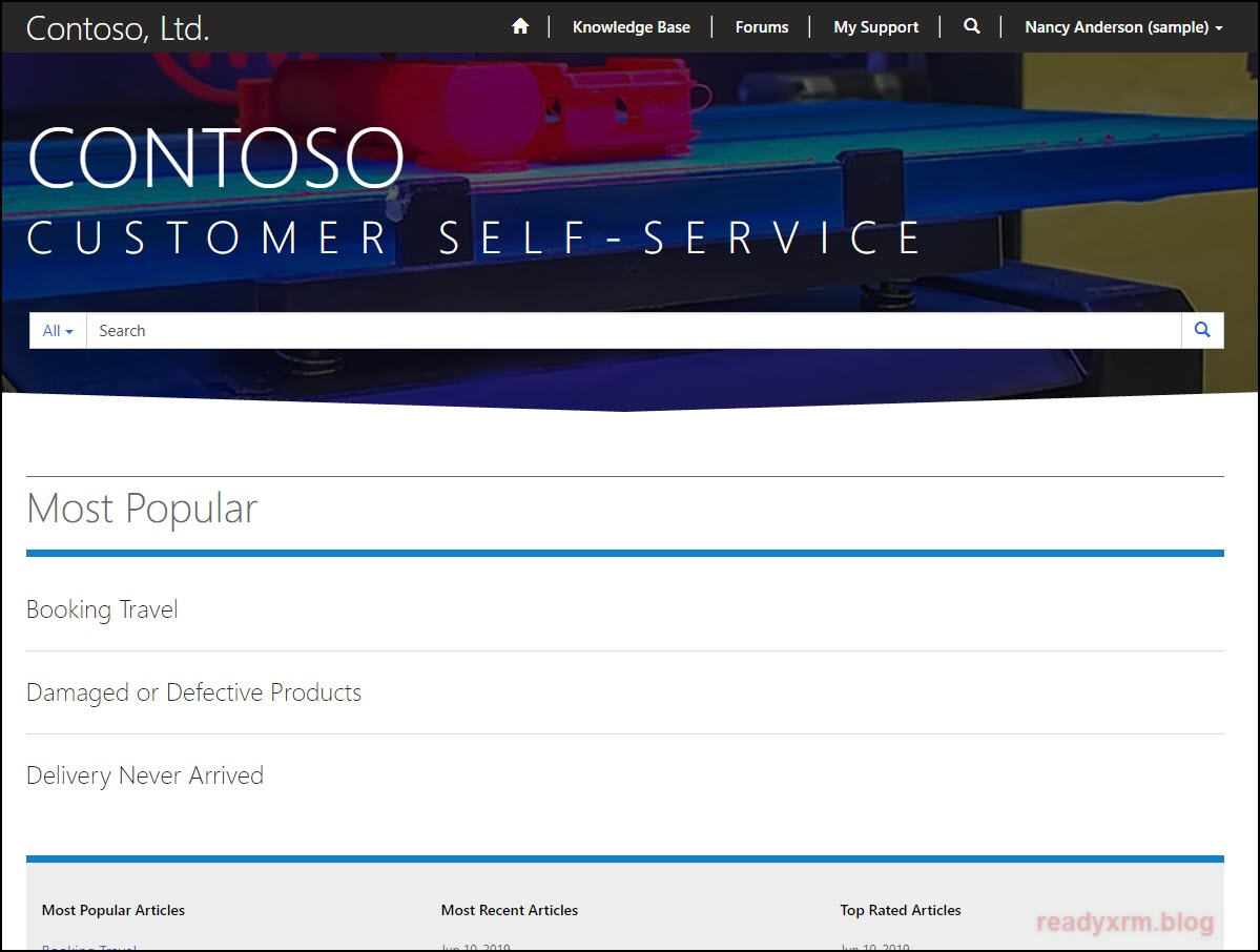 Dynamics 365 Customer Self-Service PowerApps Portals