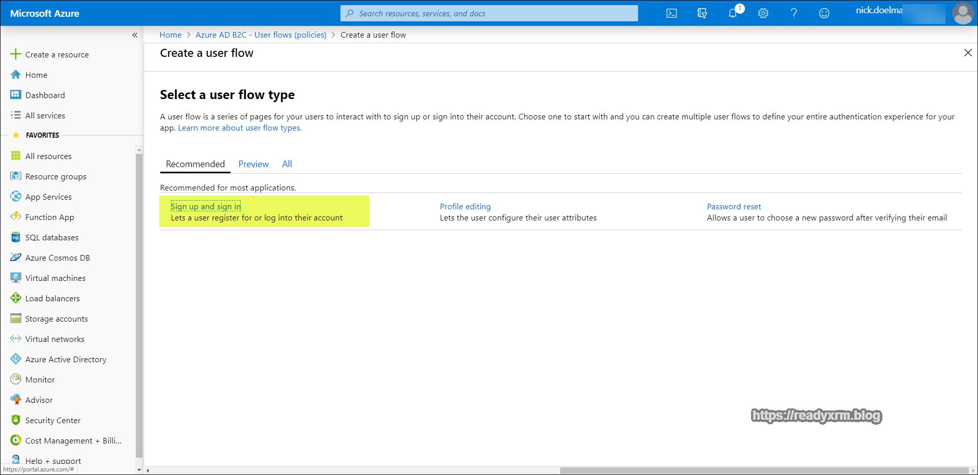 Configure Azure AD B2C for PowerApps Portals – ReadyXRM